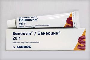 Банеоцин мазь