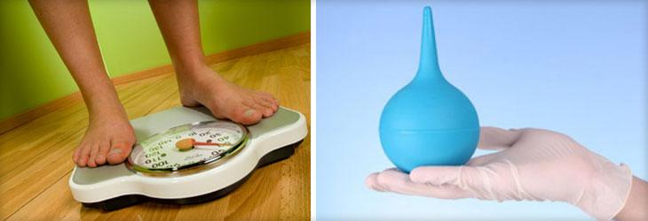 очищающие клизмы для похудения в домашних условиях